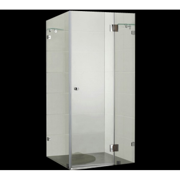 Frameless Square Shower Screen 900*900